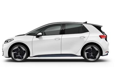 Volkswagen ID3 blanche