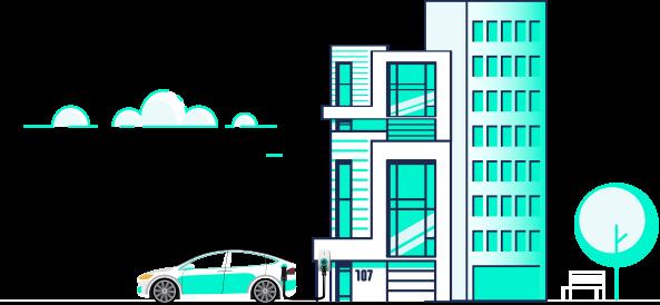 Recharge de voiture électrique en copropriété (droit à la prise)