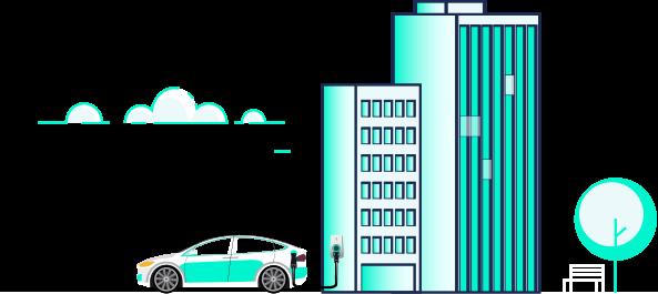 Rechargez les voitures électriques de vos employés et de vos clients dans votre entreprise