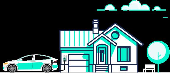 Recharge de voiture électrique en maison (crédit d'impot))