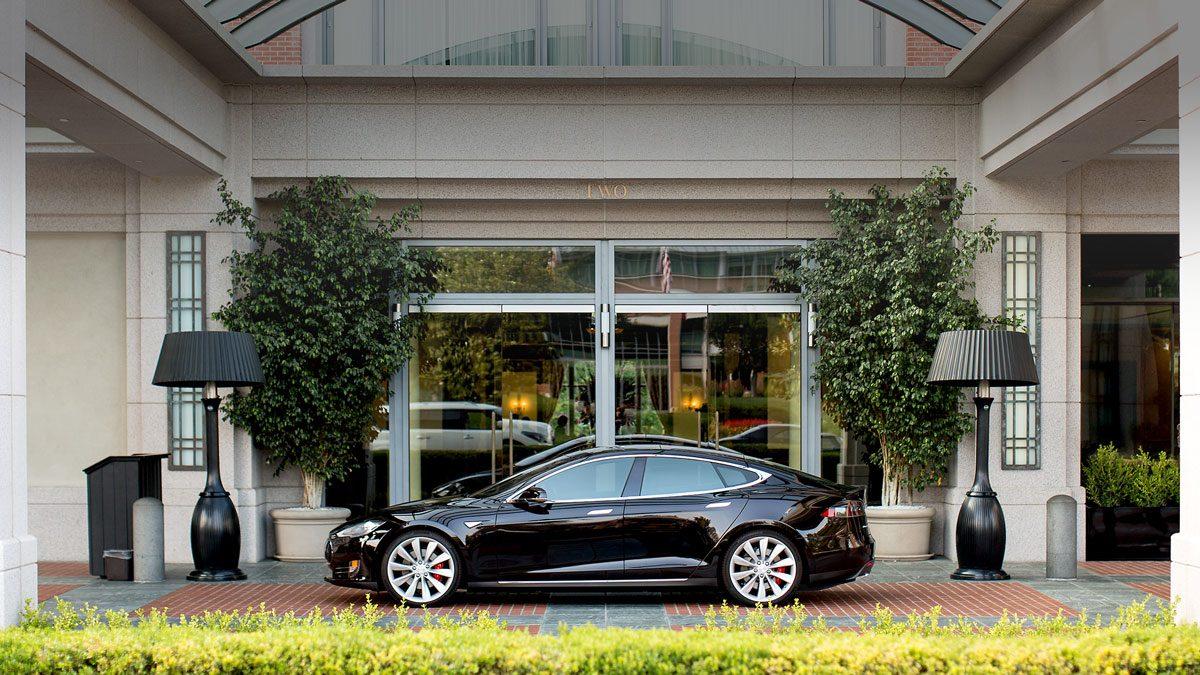 Programme destination Charging Tesla